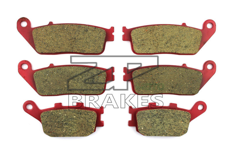 Brake Pads Ceramic For KAWASAKI Front + Rear Z 750 ABS (ZR 750 M) 2007-2011 OEM New High Quality ZPMOTO brake pads ceramic for kawasaki front rear z 750 abs zr 750 m 2007 2011 oem new high quality zpmoto