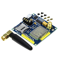 Free Shipping GPRS A6 Module Text Messages Development Board GSM GPRS Wireless Data Transmission Of Super
