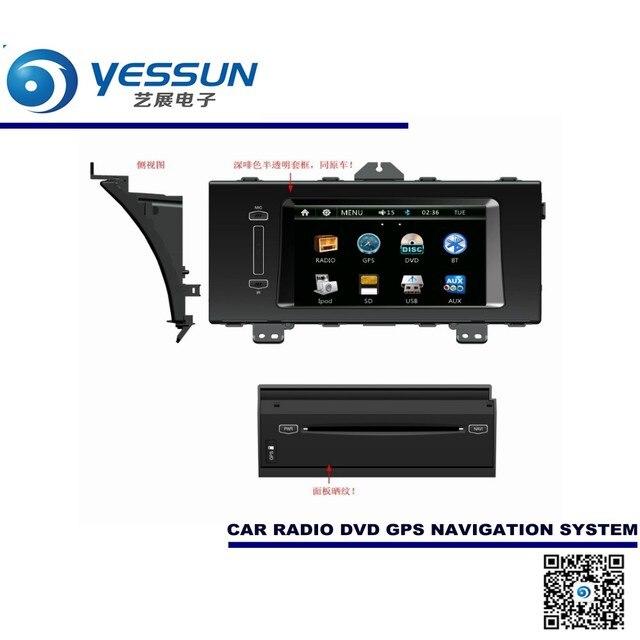 For Honda Elysion 2012~2015 Car DVD Player GPS Navigation Audio Video Multimedia System