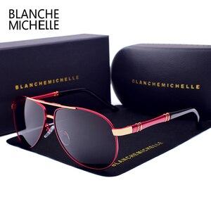 Image 4 - คุณภาพสูงแว่นตากันแดดนักบิน Polarized UV400 แว่นตากันแดด Mens Driving แว่นตากันแดดแว่นตากันแดด 2020 oculos พร้อมกล่อง sunglasses men sun glasses man sunglass mens