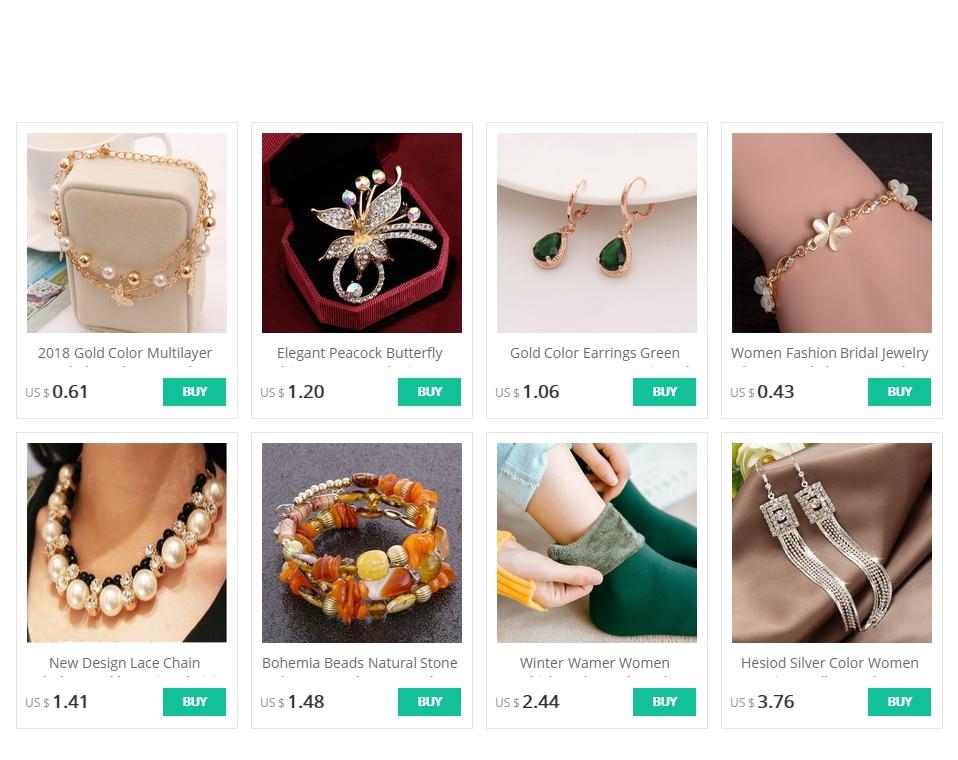 Gold Color Earrings Green Water Drop CZ Stone Pierced Dangle Earrings Women/Girls Long Drop Earrings fashion jewelry 3