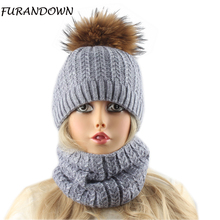 2018 New Fashion Wool Beanie Hat With Scarf Women's Winter Cap Female Twist Knitted Beanies Skullies цена в Москве и Питере