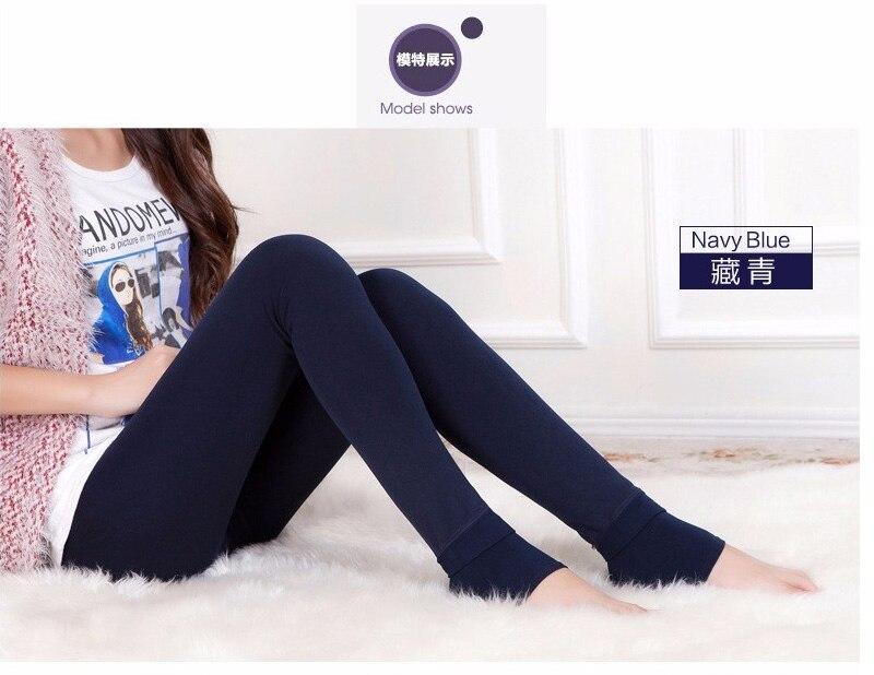 Women's Warm High Waist Thick Velvet Legging 19