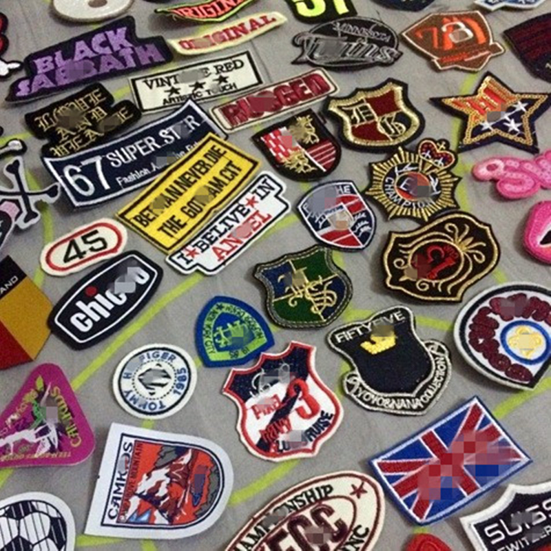 Popular random patches buy cheap lots from