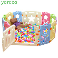 Indoor Kids Playpens Outdoor Baby Play Fence for Kids Activity Gear Environmental Protection EP Safety Play Yard