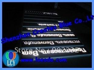1pcs/lot-Free&Fast ship/large stock/led moving sign/whiteleds/bar SIGNS/led panels/desk screen/mini USB led digital board/
