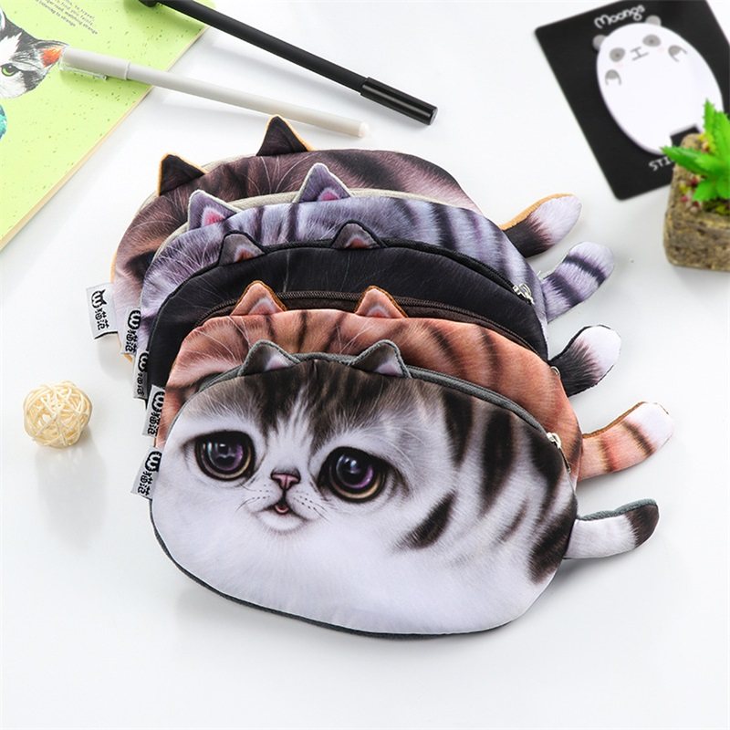Funny Cat Pencil Case 2