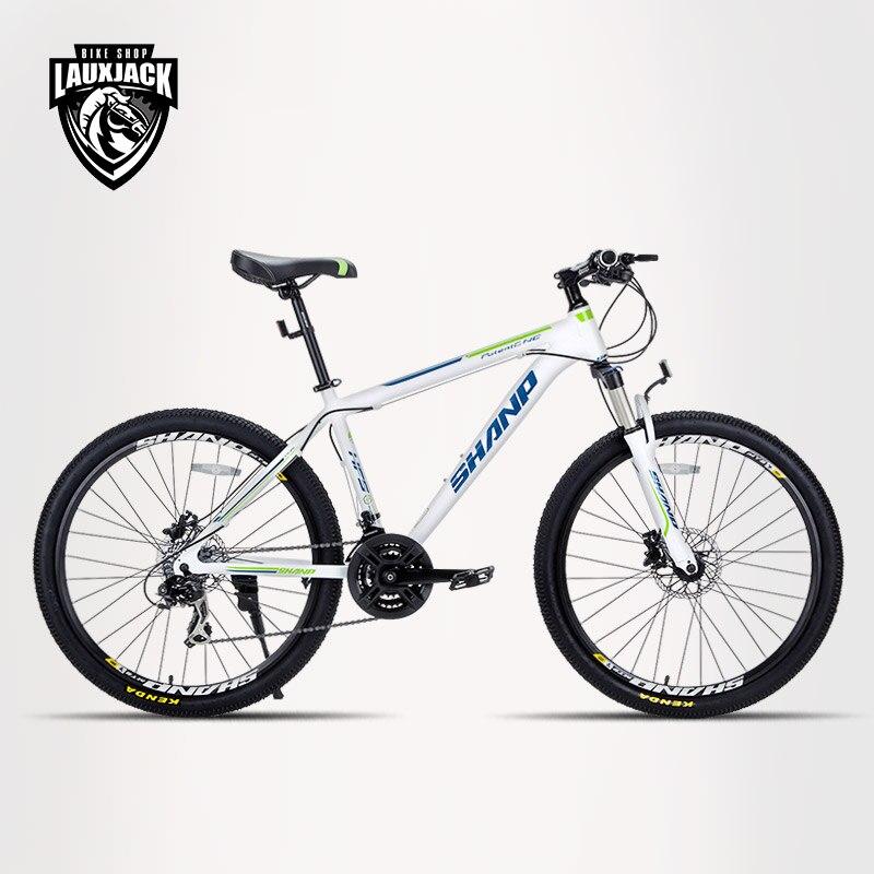 SHANP Mountain Bike Aluminum Frame 21/24 Speed 26 Wheel/27.5Wheel/29Wheel Shimano ...