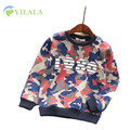 New Cotton Baby T Shirts For Girls Boys Camouflage Print Children Tees Unisex O Neck Regular Fashion Pullover Children Clothing