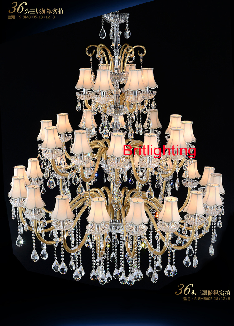 Large Chandeliers For Foyer Modern Chandelier Crystal High Ceiling Lighting Home In From Lights