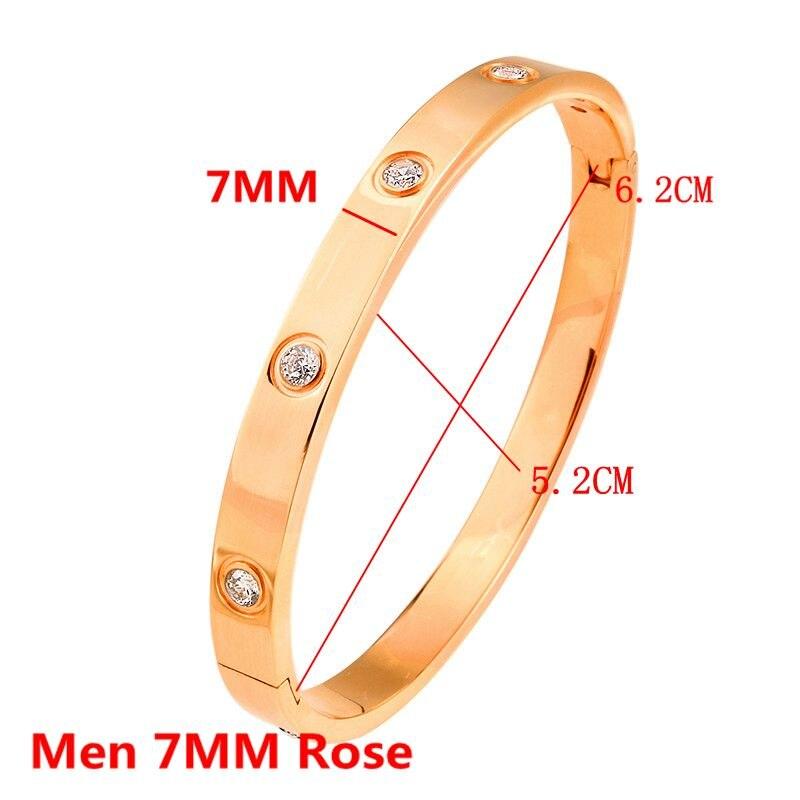 Men 7MM Rose