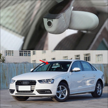 Cheap price BigBigRoad For Audi A4L 2016 2015 2013 2014 Car wifi DVR Video Recorder Novatek 96655 HD 1080P black box Keep Car Original Style