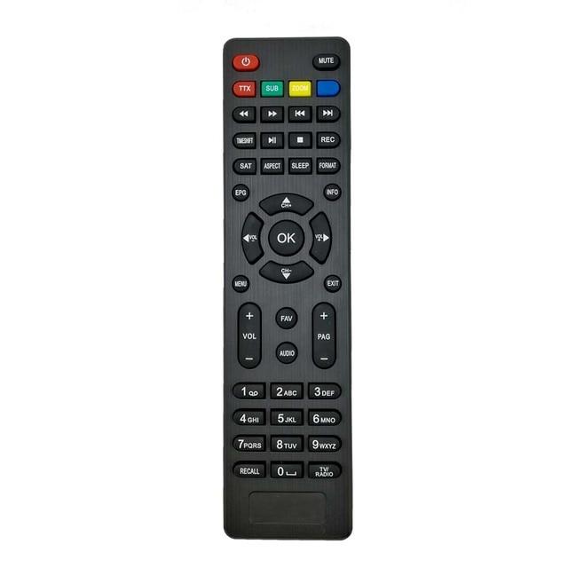 Mini Tamanho Preto e Vermelho DVB-S2 Digital HD Receptor de Satélite IPTV Combo Satélite receptor de Controle Remoto