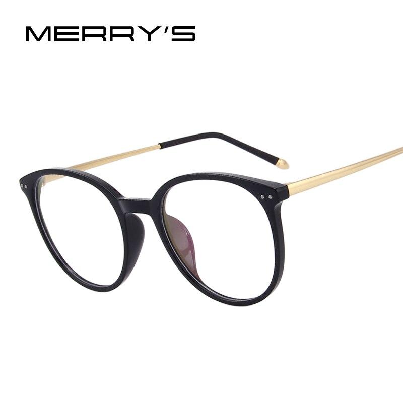 MERRYS DESIGN Women Fashion Optical Frames Eyeglasses Radiation-resistant Glasses S2069