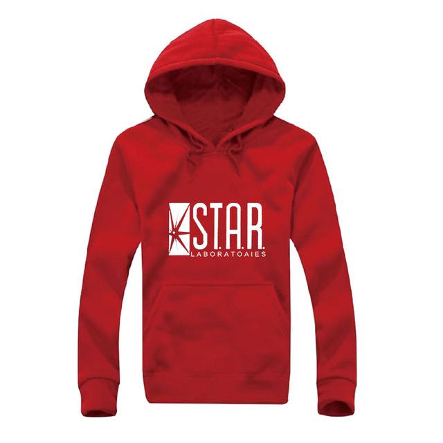 STAR Mens Hoodie