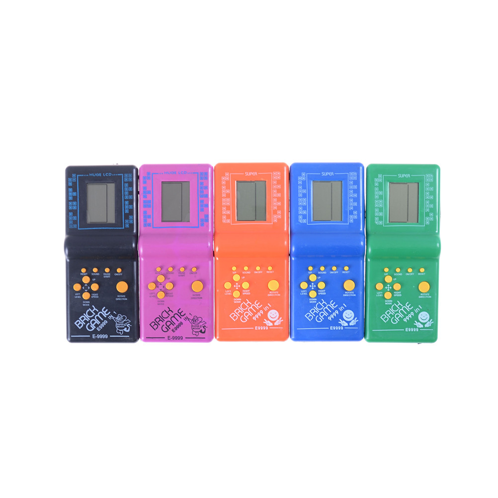 Machine Tetris Brick Game Classic Handheld Game Machine With Game Music Playback Without Battery For Kids
