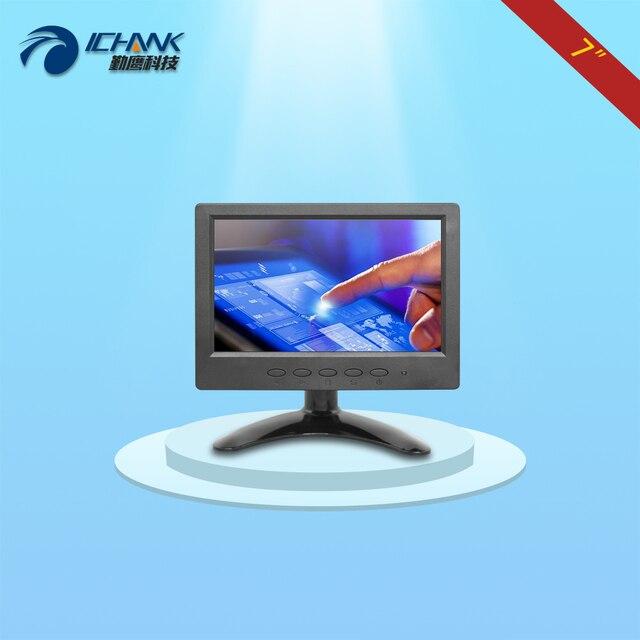 B070JC-ABHUV/7 дюймов сенсорный монитор/7 дюймов сенсорный дисплей/Небольшой портативный HDMI HD сенсорный монитор/мини 1024x600 сенсорный экран;