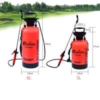 5/8L Gardening Pressure Sprayer Air Compression Pump Agricultural Gardening Watering Plant Lawn Spray Bottle Manual Sprayers