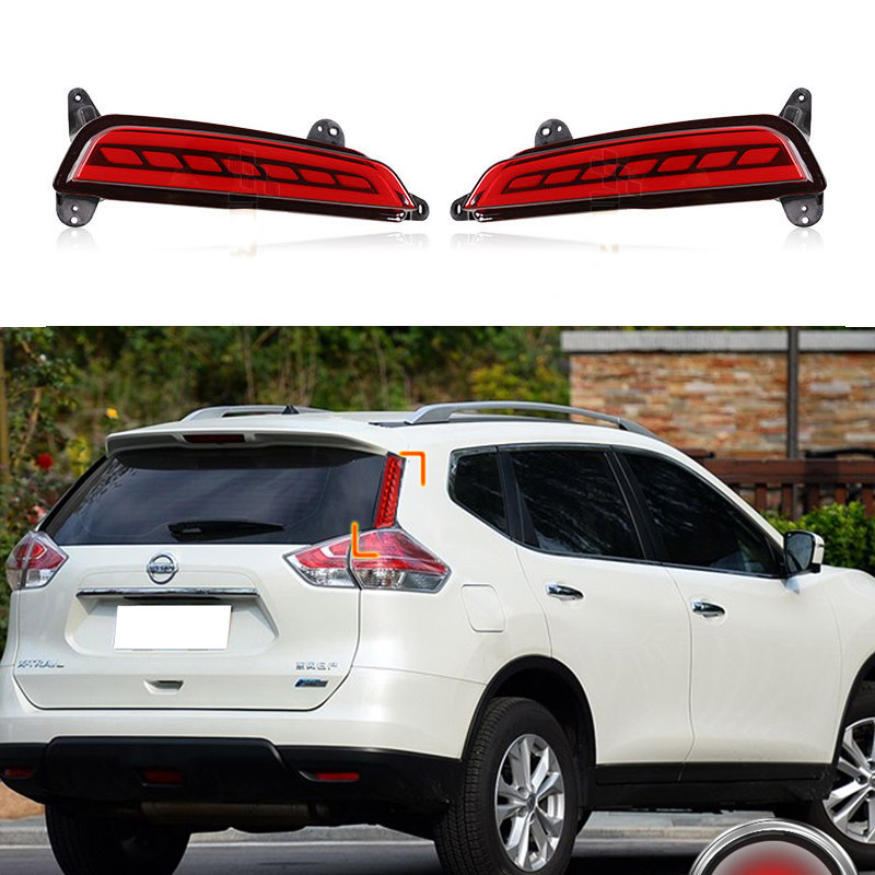 Multi-fonction LED Rear Bumper Light Rear Fog Lamp Brake Light Turn Signal Light Reflector For Hyundai IX25 2014 2015 2016 sncn multi function led reflector lamp rear fog lamp rear bumper light brake light for toyota vellfire 2005 2014