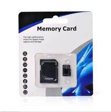 Best package Real capacity for memory card 512mb 8g 16g 32g 64g 128g micro TF card TF card for cell phone computer with adapter