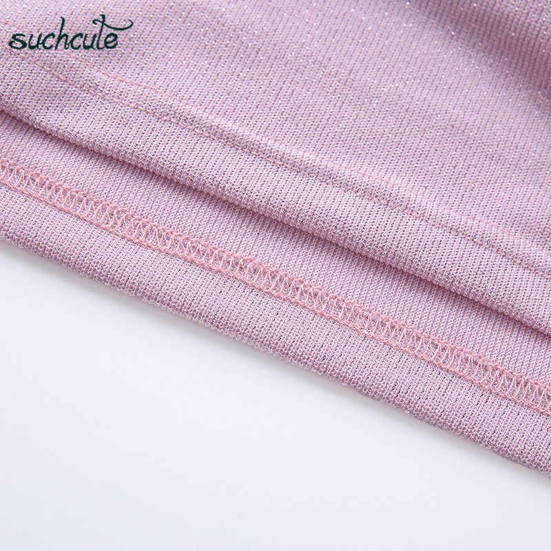 SUCHCUTE superior para mujer elegante camiseta femenina de hombro blusas Modis Harajuku moda coreana Ulzzang Streetwear Camisas de mujer