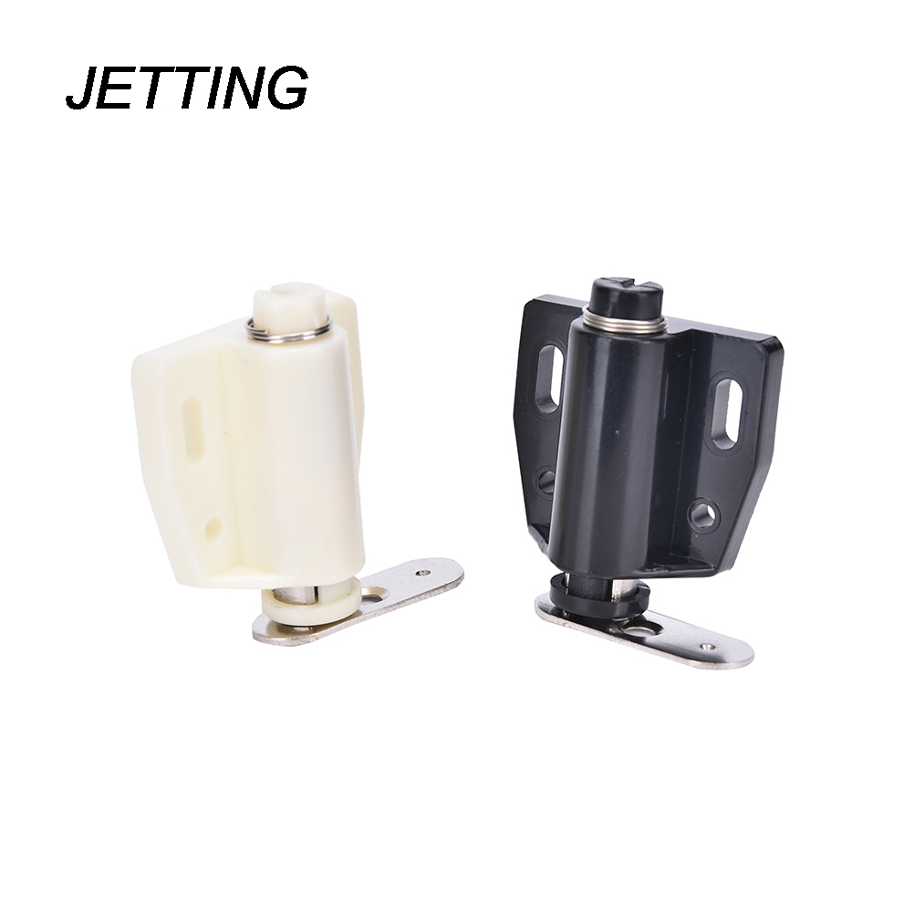 Jetting 4pcs Open Magnetic Door Drawer Cabinet Latch Catch Touch Kitchen Cupboard Cabinets Magnetic With Iron