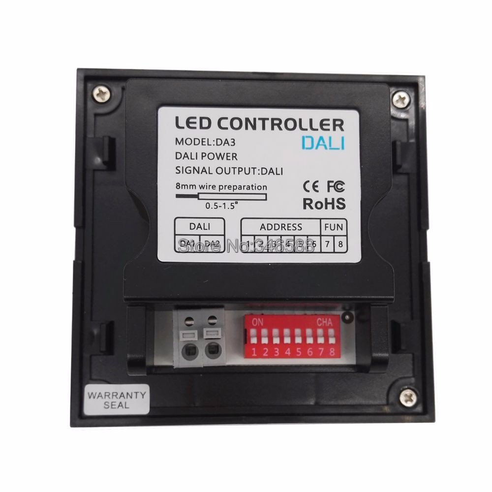 Ltech Da3 Wall Mount Touch Panel 3ch 3 Channel Control On Off D010 Led Driver Wiring Diagram Getsubject Aeproduct