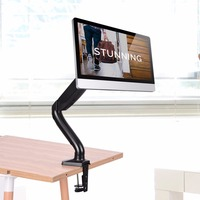 Single Arm Desktop Rotatable Lifting for TV/ Computer Display Screen Monitor Stand Support