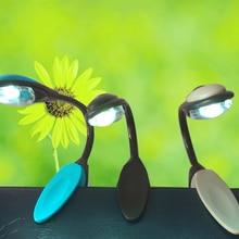 High Quality Mini Flexible Clip mini book light LED book light sheet music travel light fixture table lamp 3 Colors