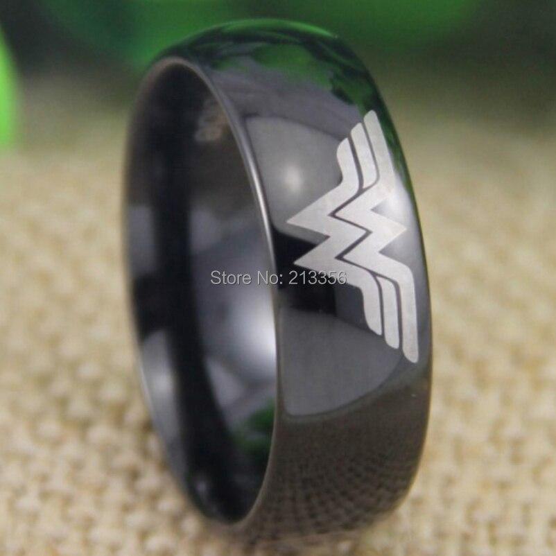 Popular Wonder Woman Tungsten Ring Buy Cheap Wonder Woman Tungsten