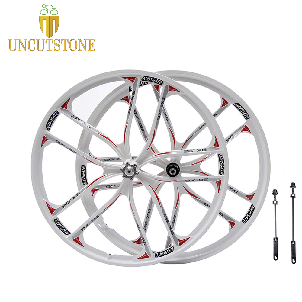 white mountain bike wheel 27.5  26 Cassette 7/8/9/10 Speeds magnesium alloy bike wheel  Mountain Bicycle Wheelrimwhite mountain bike wheel 27.5  26 Cassette 7/8/9/10 Speeds magnesium alloy bike wheel  Mountain Bicycle Wheelrim