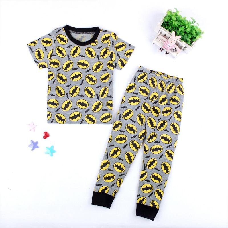 b378aa5a04d2 Aliexpress.com   Buy Summer Cotton Kids Cartoon Batman Short Sleeve ...