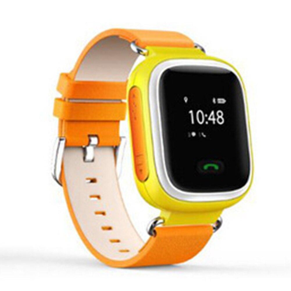 imágenes para Popular Q60 GPS GSM GPRS Rastreador Localizador Anti-perdida de Monitor Remoto Inteligente Reloj Inteligente Para Los Niños