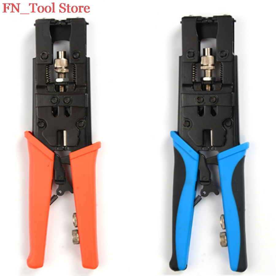 Multi-function RG6 Compression type F head Lotus flower head crushing crimping pliers clamp hand tools the 5 7 9 extrusion clamp rg6 rg11 pressing line clamp cable f head special tools