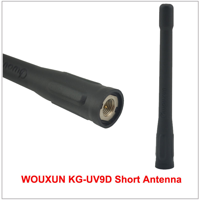 Wouxun KG-UV9D Short Antenna SMA-Male 144/430MHz Dual Band Antenna For WOUXUN KG-UV9D KG-UV9DPlus Exclusively