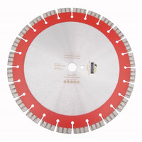 Diatool 14 Профессиональный лазерной сварки высокой Turbo сегменты алмазные Лезвие пилы Резка железобетонных алмазный диск колеса
