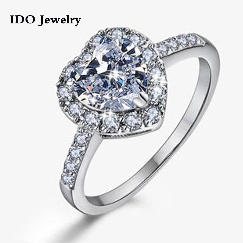 Aliexpress.com : Buy 2015 Wedding Rings Platinum Plated
