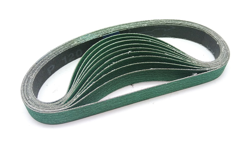 New 10pcs 520*20mm Zirconium Corundum Belt Abrasive Sanding Belt For Air Metal Belt Grinder Tool 577F