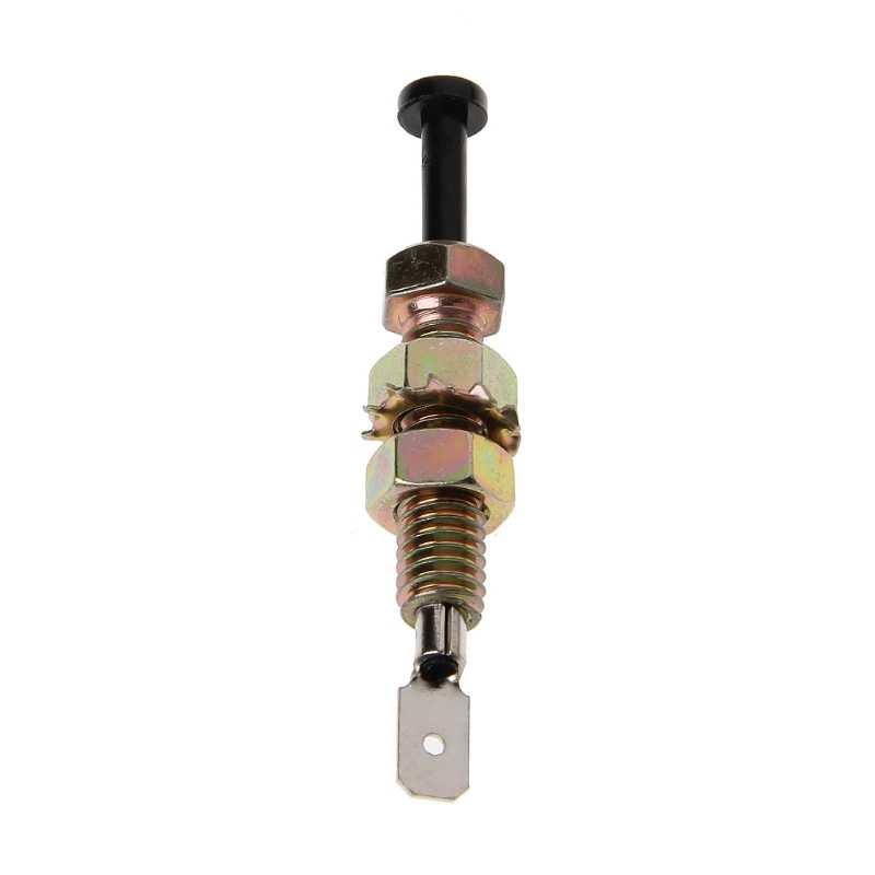 Universal Zinc alarma de seguridad de coche ajustable Auto camión campana puerta Pin interruptor