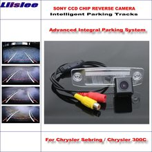 Liislee 860 Pixels Car Rear Back Camera For Chrysler Sebring / 300C Rearview Parking Dynamic Reverse Tragectory