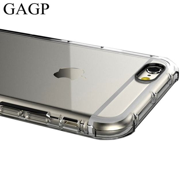 bbdd9cd48d7 for iphone 6 plus iphone 7 plus Case Transparent Clear Silicone Thin Cover  Soft Black for iphone 8 plus Case for iphone 6S