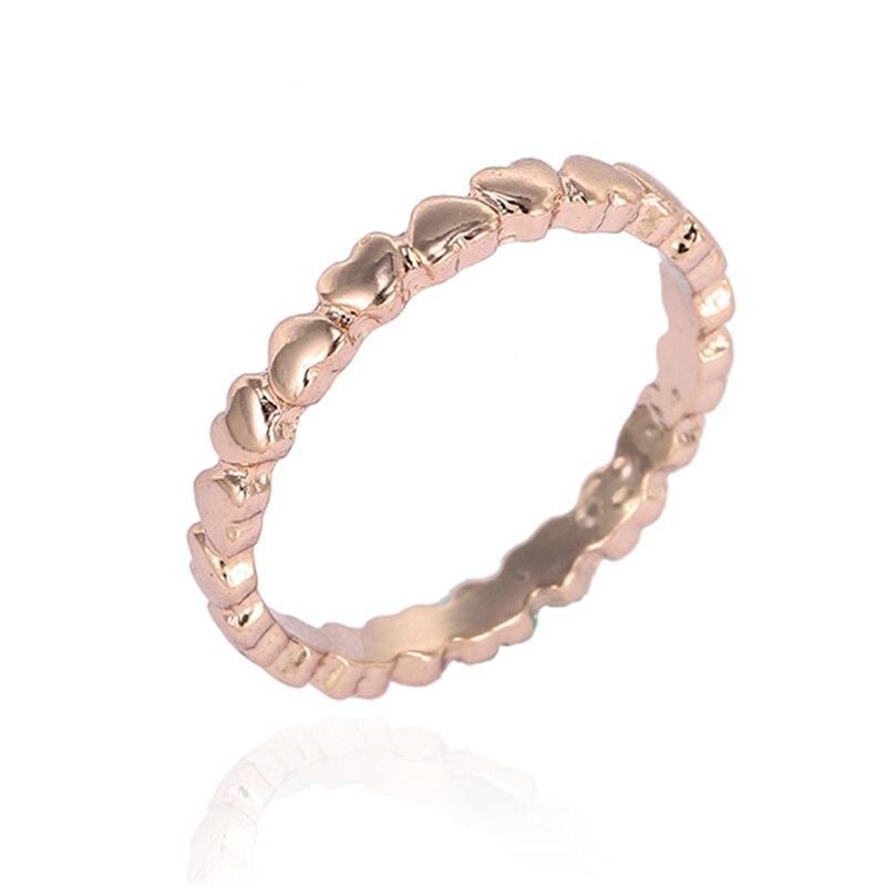 Модные плетеные кольца с кристаллами для женщин, золото/серебро/розовое золото, тонкое женское кольцо, вечерние ювелирные изделия для помолвки - Цвет основного камня: RG003
