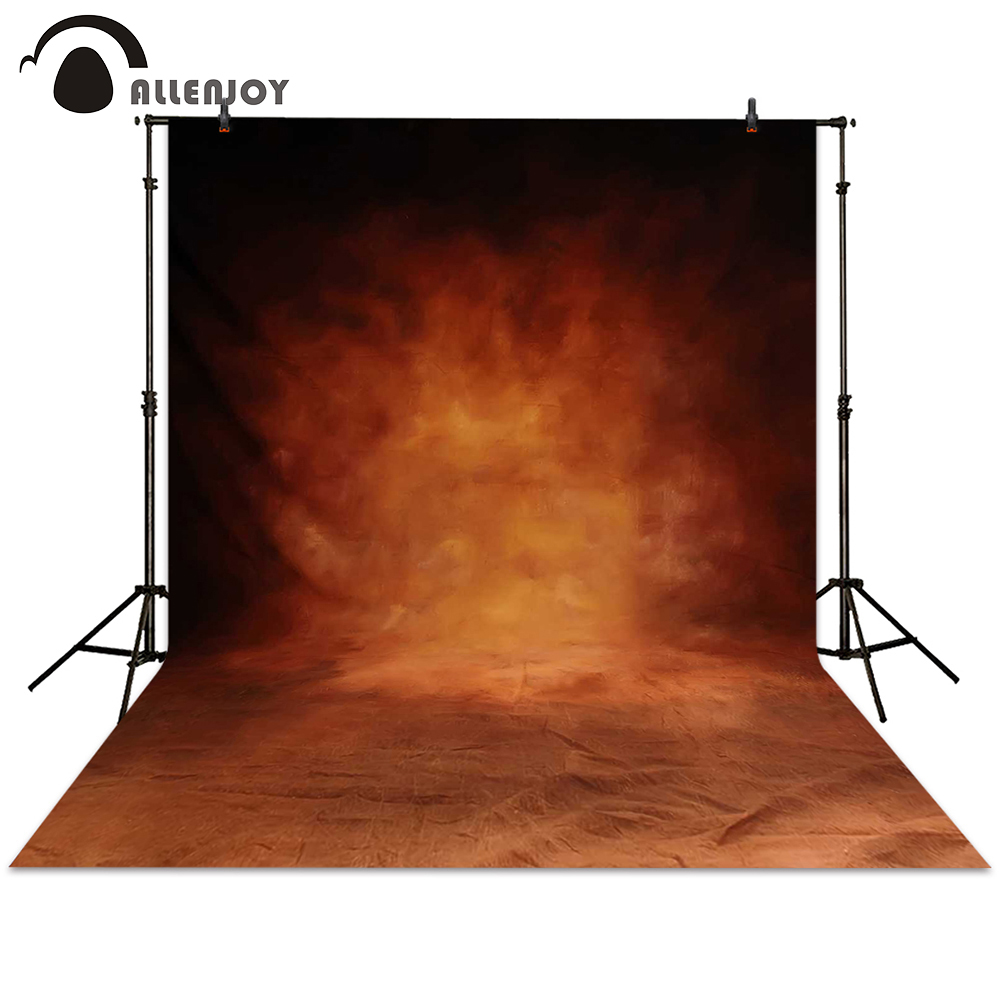 Allenjoy photography backdrops fire red hazy muslim background photo studio photographic photocall