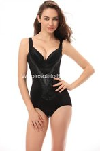 Sexy Black Open Bust Body Shaper sexy Bodysuits