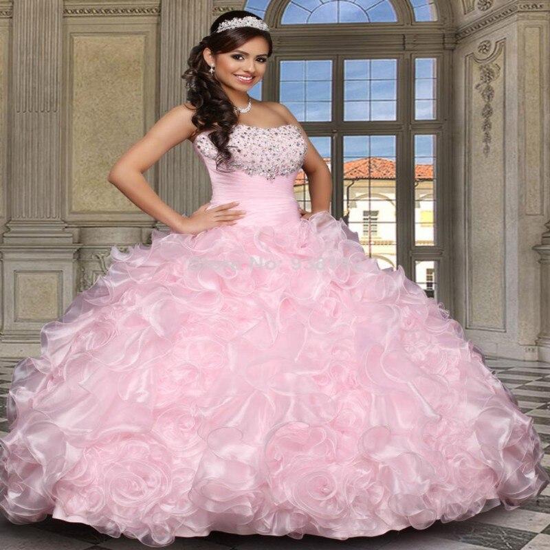 Online Get Cheap Puffy Quinceanera Dresses Sparkle -Aliexpress.com ...