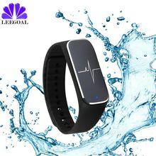 Фитнес-трекер счетчик шагов умный Браслет монитор сердечного ритма водонепроницаемый Smart Band Bluetooth 4.0 для Android IOS SmartBand