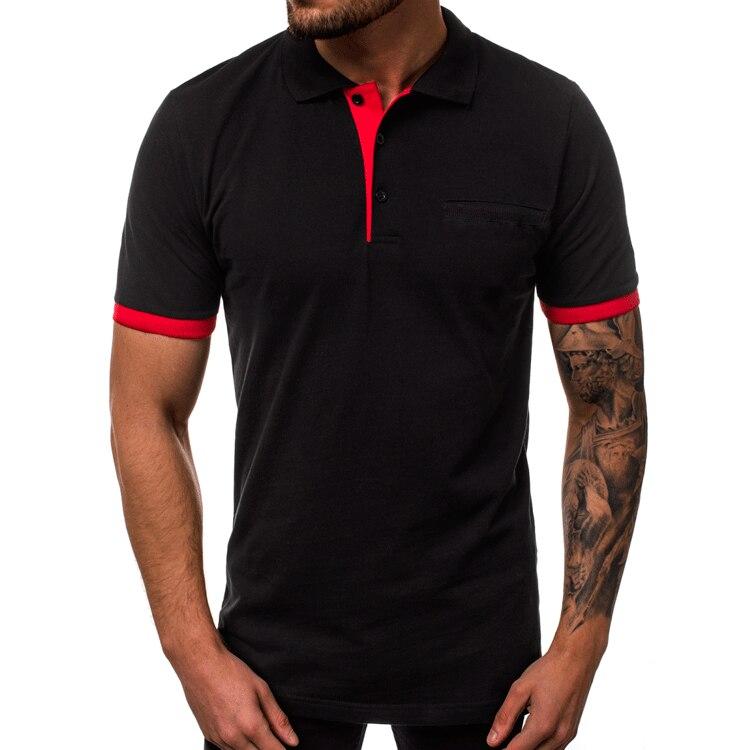 MJARTORIA Summer Fashion business Men   Polo   Shirt Men Cotton Short Sleeve shirt Brands jerseys Mens Shirts   polo   shirts Plus Size