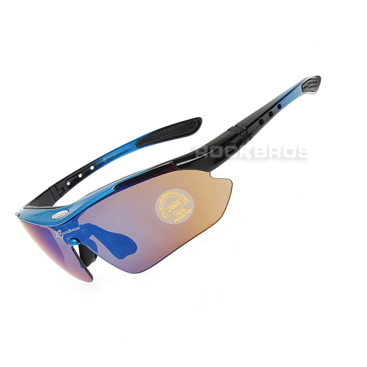 7d89961473f Hot! RockBros Polarized Cycling Sun Glasses Outdoor Sports Bicycle ...