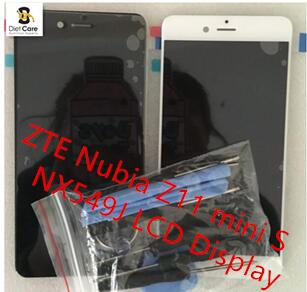 For ZTE Nubia Z11 mini S NX549J LCD Display With Touch Screen Digitizer Assembly 100% Original Free shipping