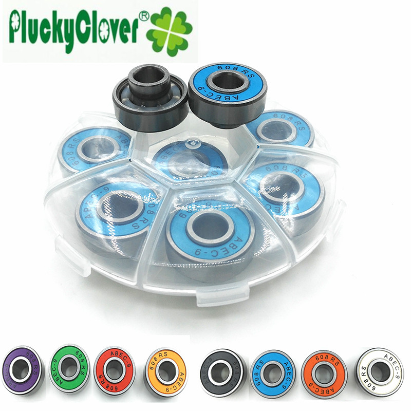 skateboard bearing spacer. 2017 new innovative 608rs skateboard bearing abec9 integrated spacer bearings longboard 608 speed skating fsk skate part-in underwear from mother i